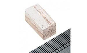 Piedra de sección cuadrada