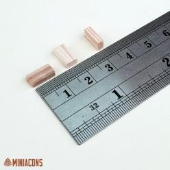 PIEDRA SECCION RECTANGULAR MEZCLA 3X5X10(V.) mm