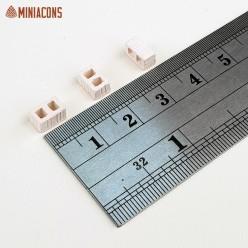 LADRILLO PERFORADO BLANCO 7 mm
